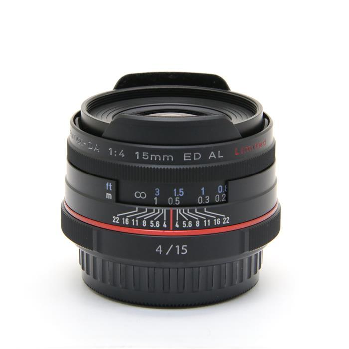 【あす楽】 【中古】 《美品》 PENTAX HD DA15mm F4 ED AL Limited ブラック [ Lens | 交換レンズ ]
