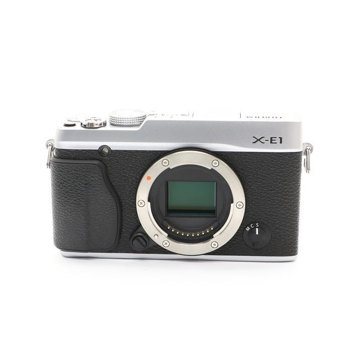 【あす楽】 【中古】 《美品》 FUJIFILM X-E1 シルバー [ デジタルカメラ ]