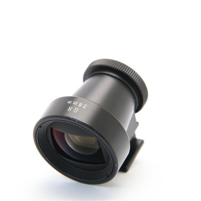 【あす楽】 【中古】 《良品》 RICOH 28mm ファインダー (GR L 28mm F2.8用)ブラック