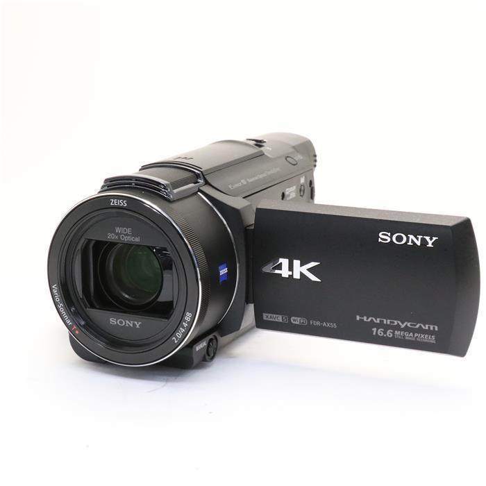 《美品》 ブラック 【中古】 ] [ FDR-AX55 デジタルカメラ 【あす楽】 SONY デジタル4Kビデオカメラレコーダー