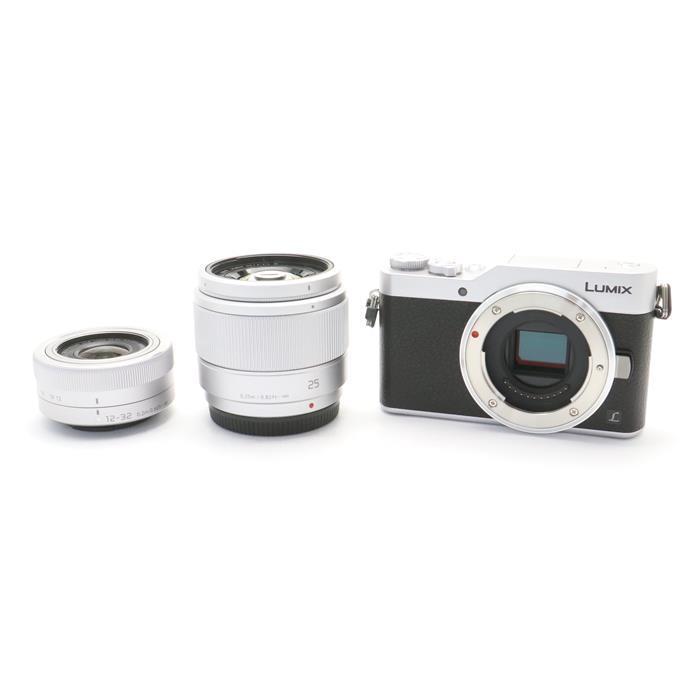 【あす楽】 【中古】 《新同品》 Panasonic LUMIX DC-GF9W ダブルレンズキット シルバー [ デジタルカメラ ]