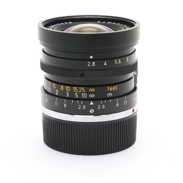 【あす楽】 【中古】 《美品》 Leica エルマリート M28mm F2.8 (E48レトロタイプ無限遠ロック無) ※2nd 【レンズ清掃/ピントリング調整/各部点検済】 [ Lens   交換レンズ ]