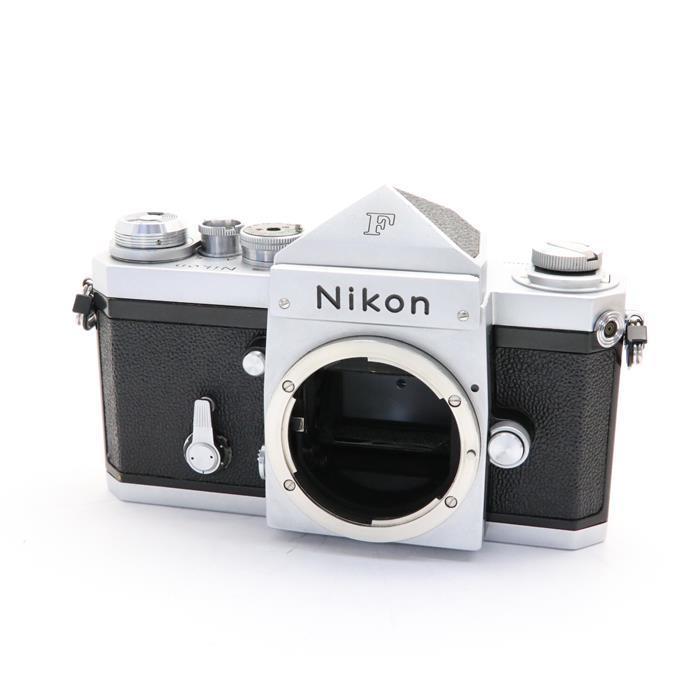 【あす楽】 【中古】 《良品》 Nikon F (eyelevel) シルバー 【ファインダー内清掃/シャッター精度調整/各部点検済】