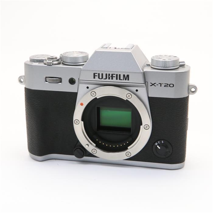 【あす楽】 【中古】 《並品》 FUJIFILM X-T20 ボディ シルバー [ デジタルカメラ ]
