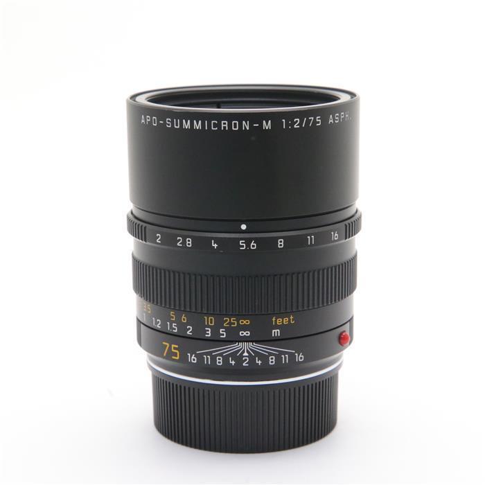 【あす楽】 【中古】 《難有品》 Leica アポズミクロン M75mm F2.0 ASPH. (6bit) [ Lens   交換レンズ ]