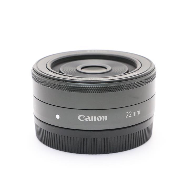 【あす楽】 【中古】 《並品》 Canon EF-M22mm F2 STM ブラック [ Lens   交換レンズ ]