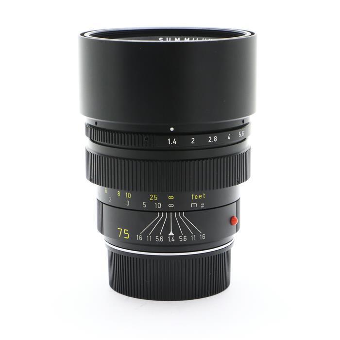 【あす楽】 【中古】 《良品》 Leica ズミルックス M75mm F1.4 ブラック [ Lens | 交換レンズ ]