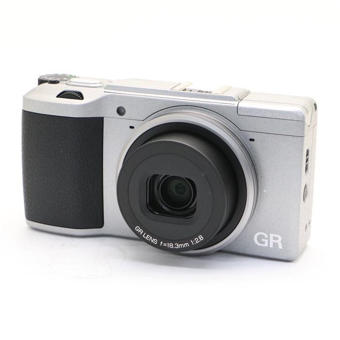 【あす楽】 【中古】 《美品》 RICOH GR II Silver Edition [ デジタルカメラ ]