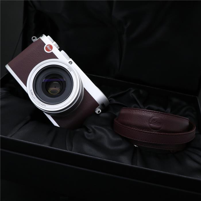 【あす楽】 【中古】 《良品》 Leica X(Typ113) マルーン 【希少品/国内限定50台生産】【ライカカメラジャパンにて各部点検済】 [ デジタルカメラ ]