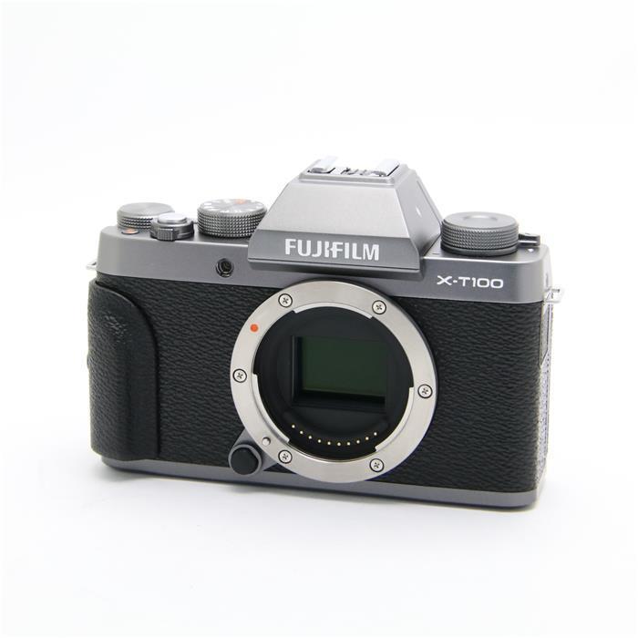 【あす楽】 【中古】 《美品》 FUJIFILM X-T100 ボディ ダークシルバー [ デジタルカメラ ]