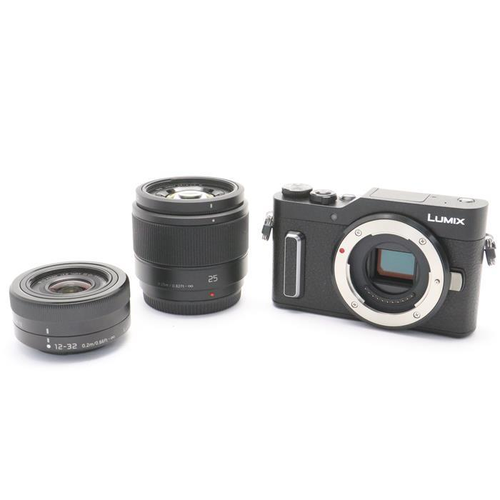 【あす楽】 【中古】 《新同品》 Panasonic LUMIX DC-GF10W ダブルレンズキット ブラック [ デジタルカメラ ]