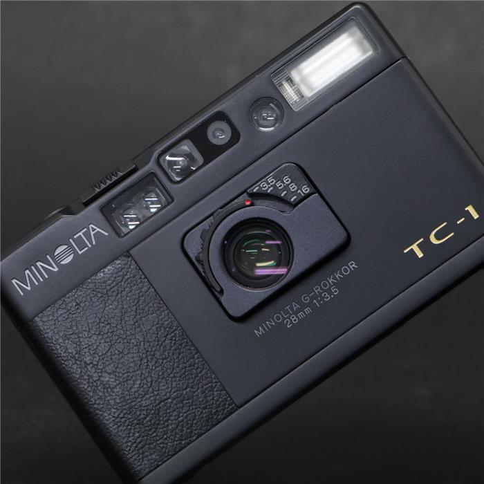 【あす楽】 【中古】 《良品》 MINOLTA TC-1 Limited ブラック 【ミノルタ創業70周年記念の希少な限定モデル】