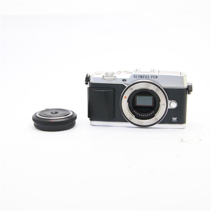 【あす楽】 【中古】 《並品》 OLYMPUS PEN E-P5 ボディ/BCL-1580セット シルバー [ デジタルカメラ ]