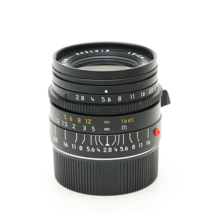 【あす楽】 【中古】 《良品》 Leica エルマリート M28mm F2.8 ブラック 【各部点検済】 [ Lens   交換レンズ ]