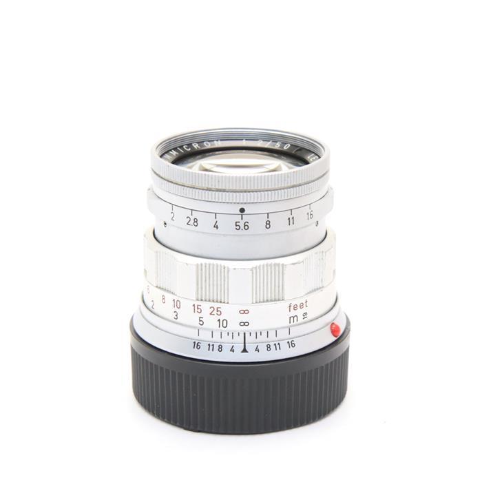 【あす楽】 【中古】 《並品》 Leica ズミクロン M50mm F2 後期 ※最短1m シルバー [ Lens | 交換レンズ ]