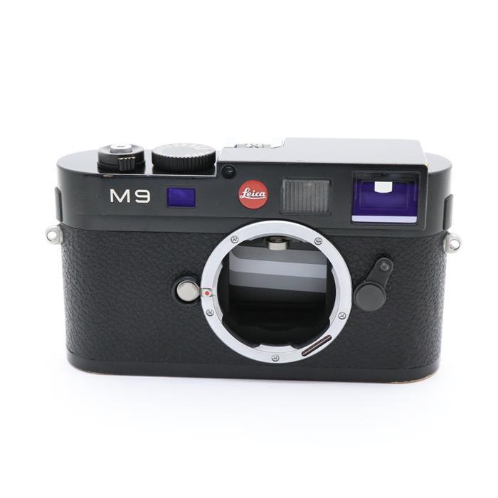 【あす楽】 【中古】 《並品》 Leica M9 ボディ ブラックペイント 【ライカカメラジャパンにてセンサークリーニング/シャッターチャージモーター部品交換/各部点検済】 [ デジタルカメラ ]
