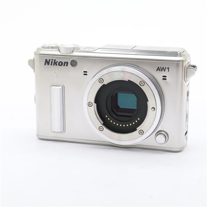 【あす楽】 【中古】 《並品》 Nikon Nikon 1 AW1 ボディ シルバー [ デジタルカメラ ]