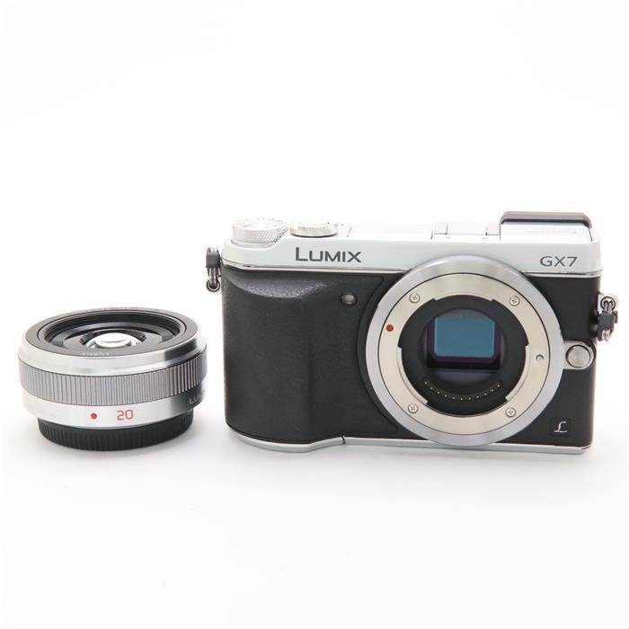 【あす楽】 【中古】 《並品》 Panasonic LUMIX DMC-GX7C レンズキット シルバー [ デジタルカメラ ]