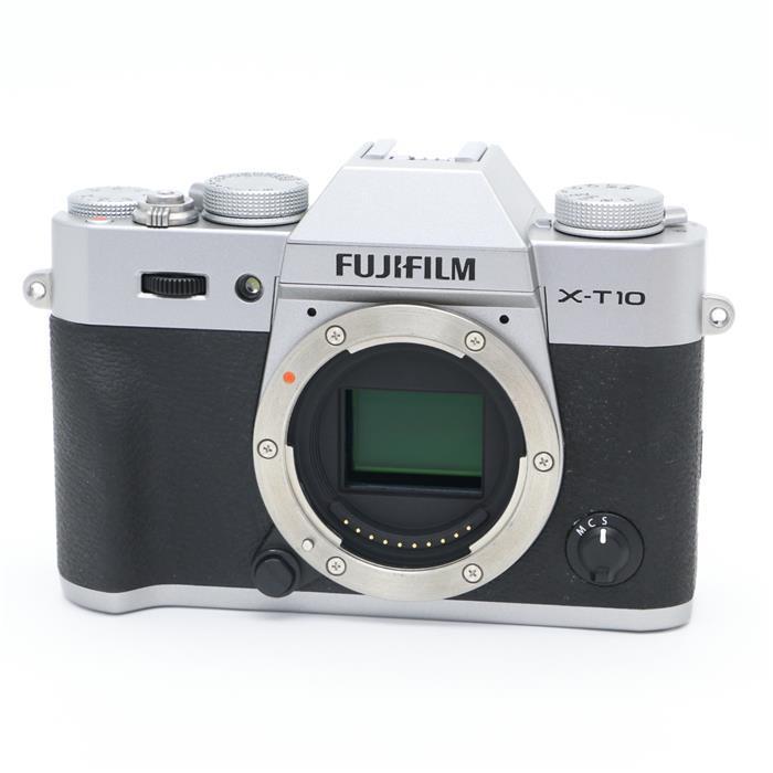 【あす楽】 【中古】 《良品》 FUJIFILM X-T10 ボディ シルバー [ デジタルカメラ ]