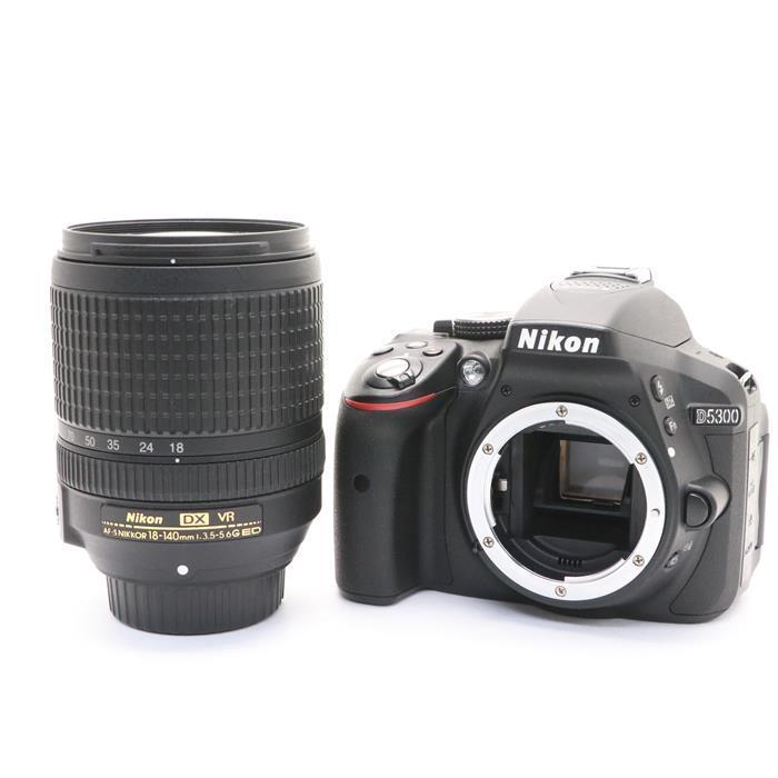 【あす楽】 【中古】 《良品》 Nikon D5300 18-140 VR レンズキット ブラック [ デジタルカメラ ]