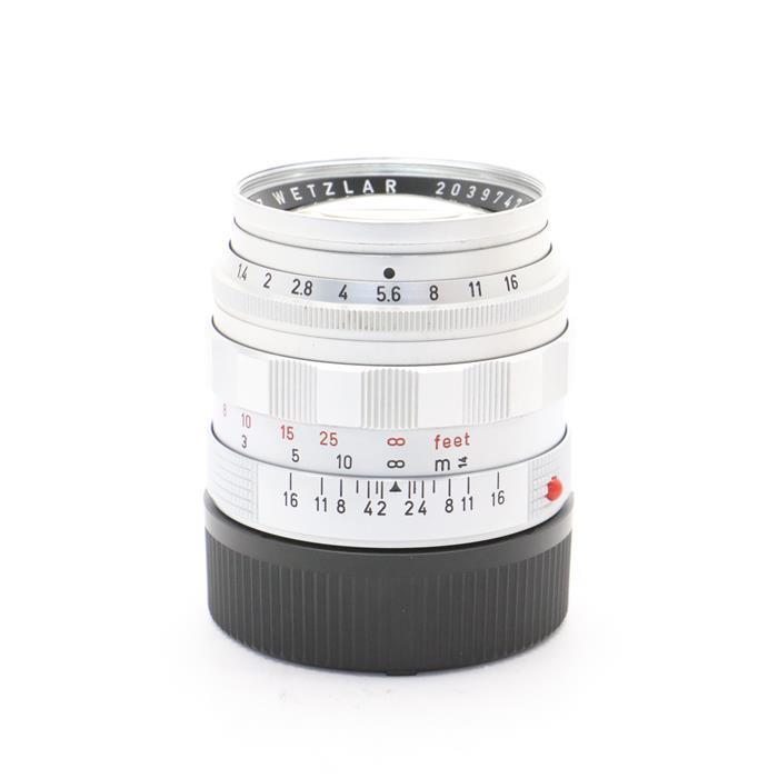 【あす楽】 【中古】 《良品》 Leica ズミルックス M50mm F1.4 後期型  シルバー 【レンズ内クリーニング/各部点検済】 [ Lens | 交換レンズ ]