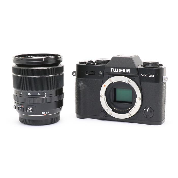 【あす楽】 【中古】 《良品》 FUJIFILM X-T20 レンズキット ブラック [ デジタルカメラ ]