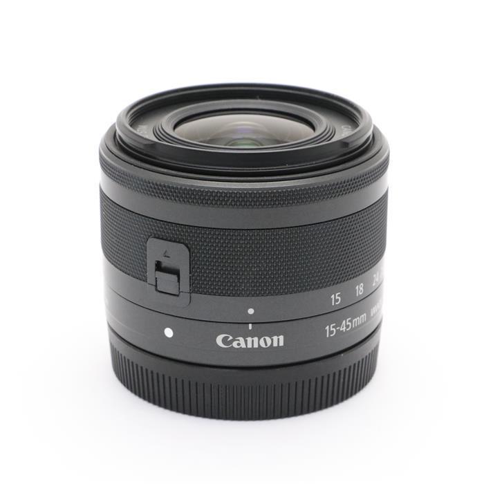 【あす楽】 【中古】 《良品》 Canon EF-M15-45mm F3.5-6.3 IS STM グラファイト [ Lens | 交換レンズ ]