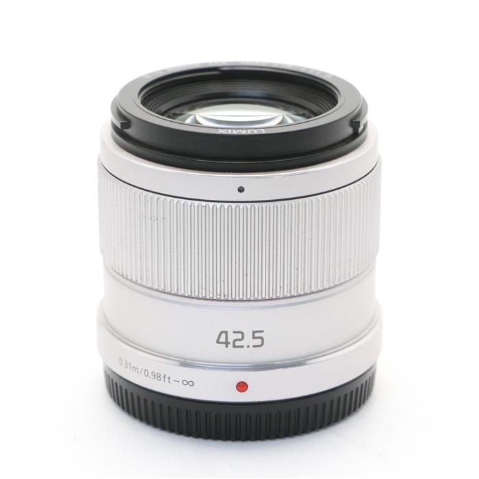 【あす楽】 【中古】 《良品》 Panasonic G 42.5mm F1.7 ASPH. POWER O.I.S. シルバー (マイクロフォーサーズ) [ Lens | 交換レンズ ]
