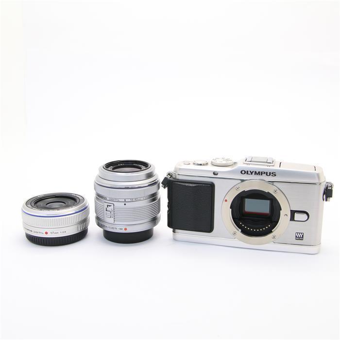 【あす楽】 【中古】 《良品》 OLYMPUS PEN E-P3ツインレンズキット シルバー [ デジタルカメラ ]