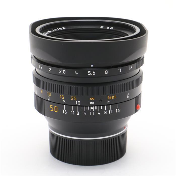 【あす楽】 【中古】 《美品》 Leica ノクティルックス M50mm F1.0 レンズフード組込 ブラック [ Lens   交換レンズ ]