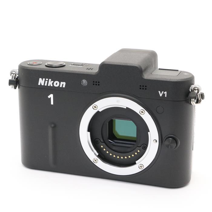 【あす楽】 【中古】 《美品》 Nikon Nikon 1 V1 ボディ ブラック [ デジタルカメラ ]