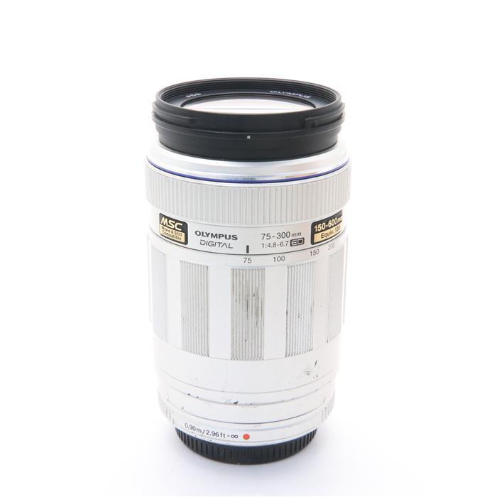 【あす楽】 【中古】 《並品》 OLYMPUS M.ZUIKO ED75-300mm F4.8-6.7 シルバー (マイクロフォーサーズ) [ Lens | 交換レンズ ]