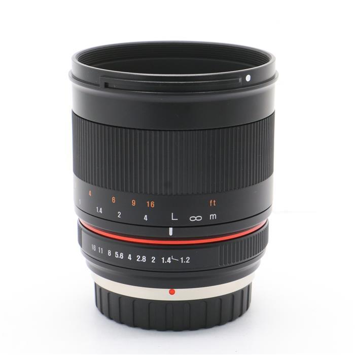 【あす楽】 【中古】 《美品》 SAMYANG 50mm F1.2 AS UMC CS (マイクロフォーサーズ用) ブラック [ Lens   交換レンズ ]