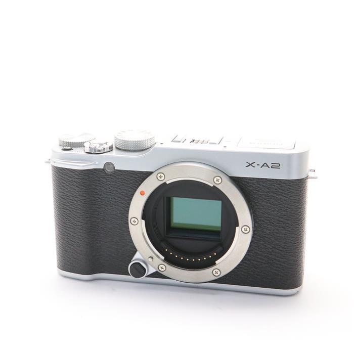 【あす楽】 【中古】 《並品》 FUJIFILM X-A2 ボディ シルバー [ デジタルカメラ ]