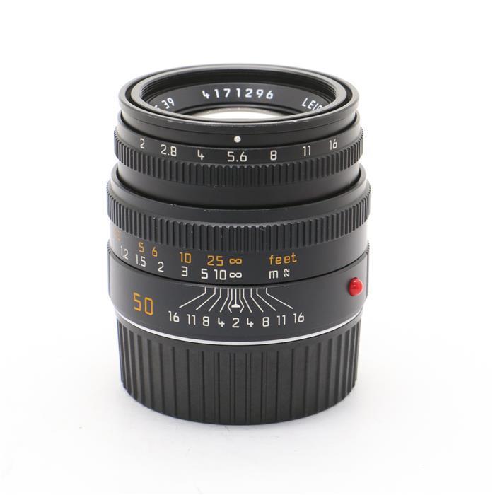 【あす楽】 【中古】 《並品》 Leica ズミクロン M50mm F2.0 レンズフード組込 (6bit) ブラック [ Lens | 交換レンズ ]