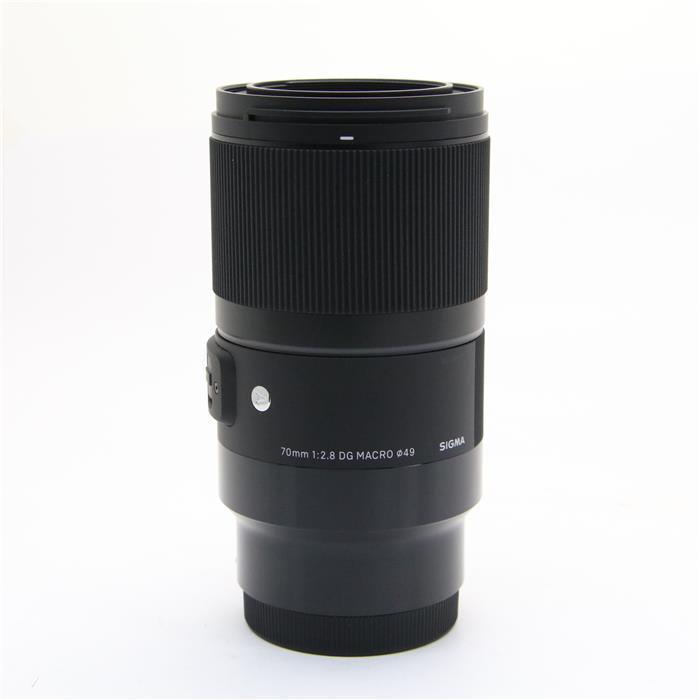 【あす楽】 【中古】 《美品》 SIGMA A 70mm F2.8 DG MACRO(ソニーE用/フルサイズ対応) [ Lens | 交換レンズ ]