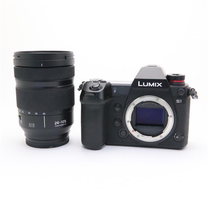 【あす楽】 【中古】 《並品》 Panasonic LUMIX DC-S1M 標準ズームレンズキット ブラック [ デジタルカメラ ]