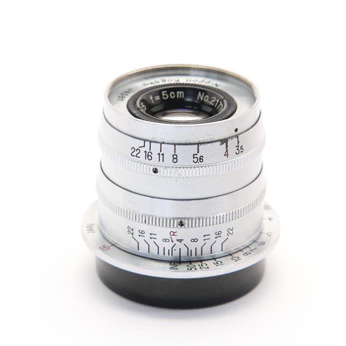 代引き手数料無料 あす楽 中古 《良品》 Nikon NIKKOR-Q.C Lens 上等 商品追加値下げ在庫復活 50mm 交換レンズ F3.5 L 固定鏡筒