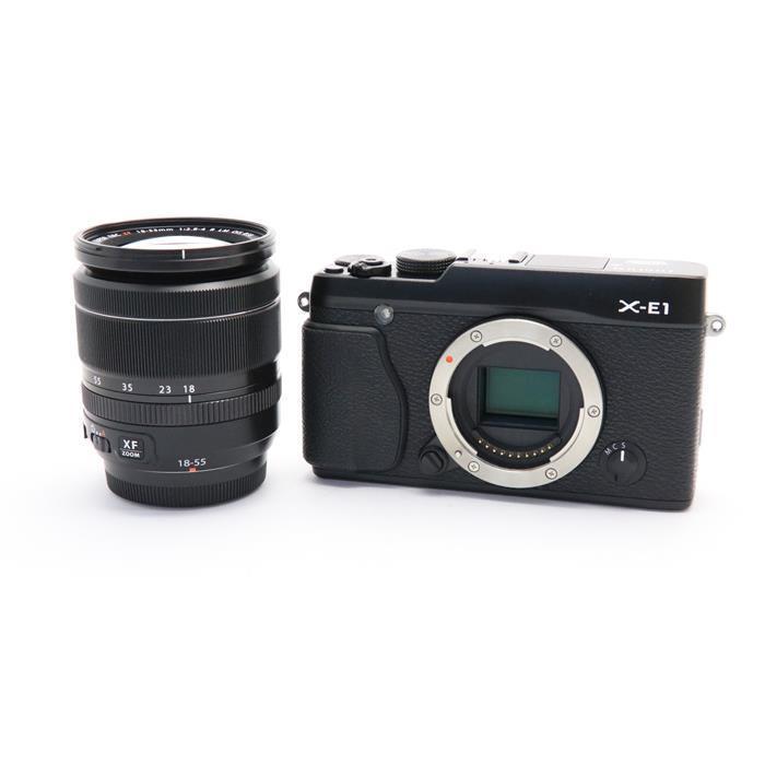 【あす楽】 【中古】 《美品》 FUJIFILM X-E1 XF18-55 ズームレンズセット ブラック [ デジタルカメラ ]