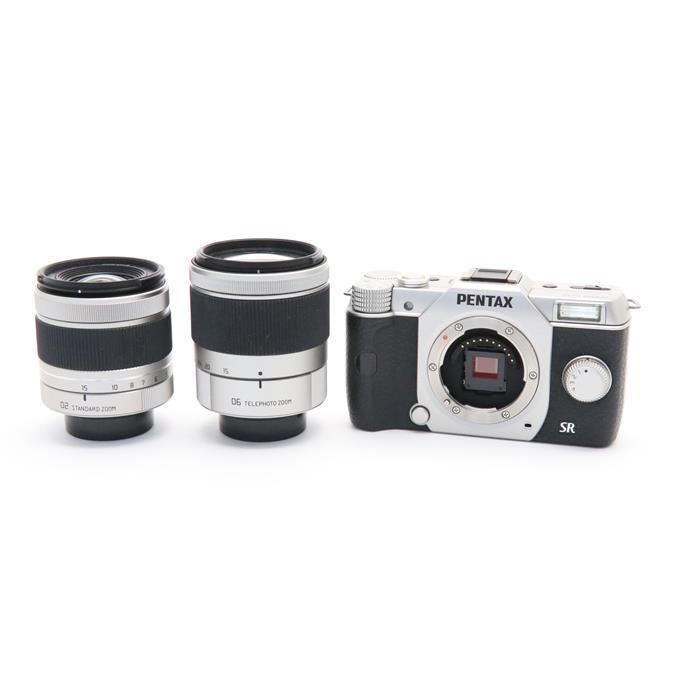 【あす楽】 【中古】 《良品》 PENTAX Q10 ダブルズームキット シルバー [ デジタルカメラ ]