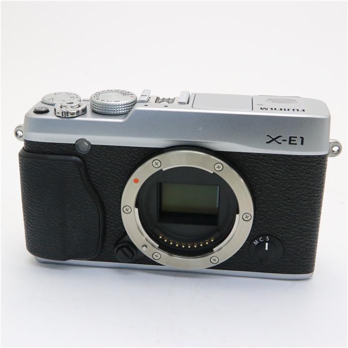 【あす楽】 【中古】 《並品》 FUJIFILM X-E1 シルバー [ デジタルカメラ ]
