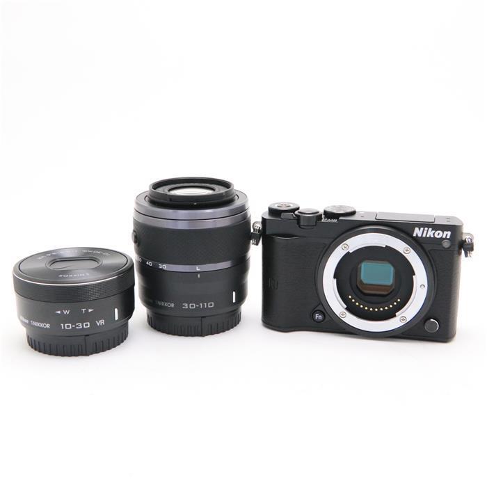 【あす楽】 【中古】 《良品》 Nikon Nikon 1 J5 ダブルズームレンズキット ブラック [ デジタルカメラ ]