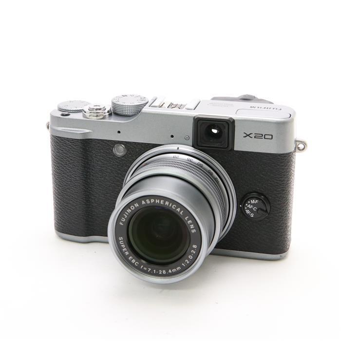 【あす楽】 【中古】 《難有品》 FUJIFILM X20 シルバー [ デジタルカメラ ]