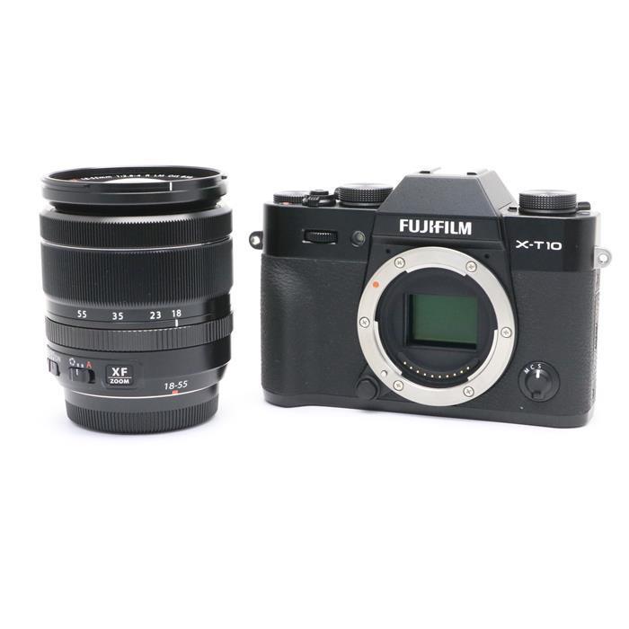 【あす楽】 【中古】 《良品》 FUJIFILM X-T10 レンズキット ブラック [ デジタルカメラ ]