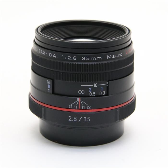 【あす楽】 【中古】 《良品》 PENTAX HD DA35mm F2.8 Macro Limited ブラック [ Lens | 交換レンズ ]