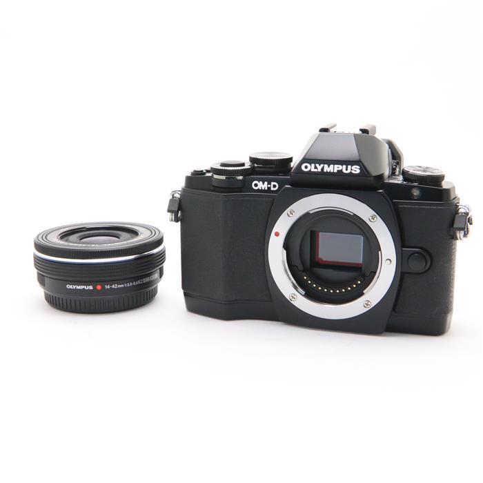 【あす楽】 【中古】 《並品》 OLYMPUS OM-D E-M10 14-42mm EZレンズキット ブラック [ デジタルカメラ ]