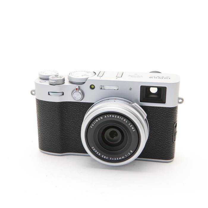 【あす楽】 【中古】 《新同品》 FUJIFILM X100V シルバー [ デジタルカメラ ]