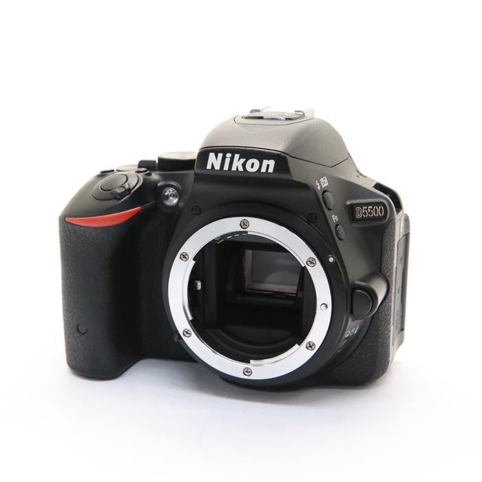 【あす楽】 【中古】 《並品》 Nikon D5500 ボディ ブラック [ デジタルカメラ ]