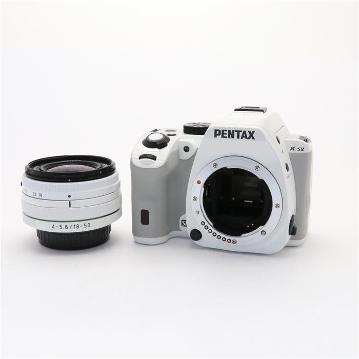 【あす楽】 【中古】 《良品》 PENTAX K-S2 18-50RE レンズキット ホワイト [ デジタルカメラ ]