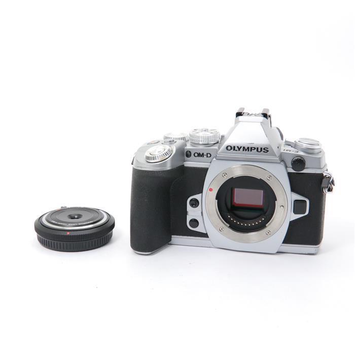 【あす楽】 【中古】 《並品》 OLYMPUS OM-D E-M1 (BCL-1580セット) シルバー [ デジタルカメラ ]